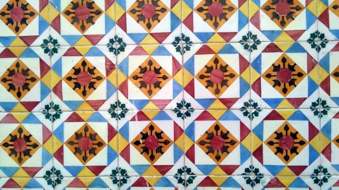 Détail d'azulejos