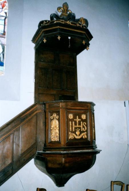 Eglise Saint-Barthélémy - Chaire