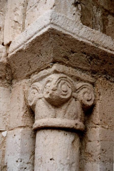 Détail du portail de la façade occidentale